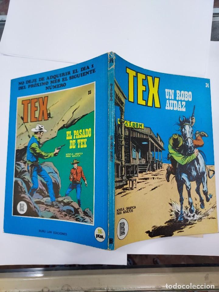 Libros: Tex un robo audaz nº 34 - Foto 2 - 278276343