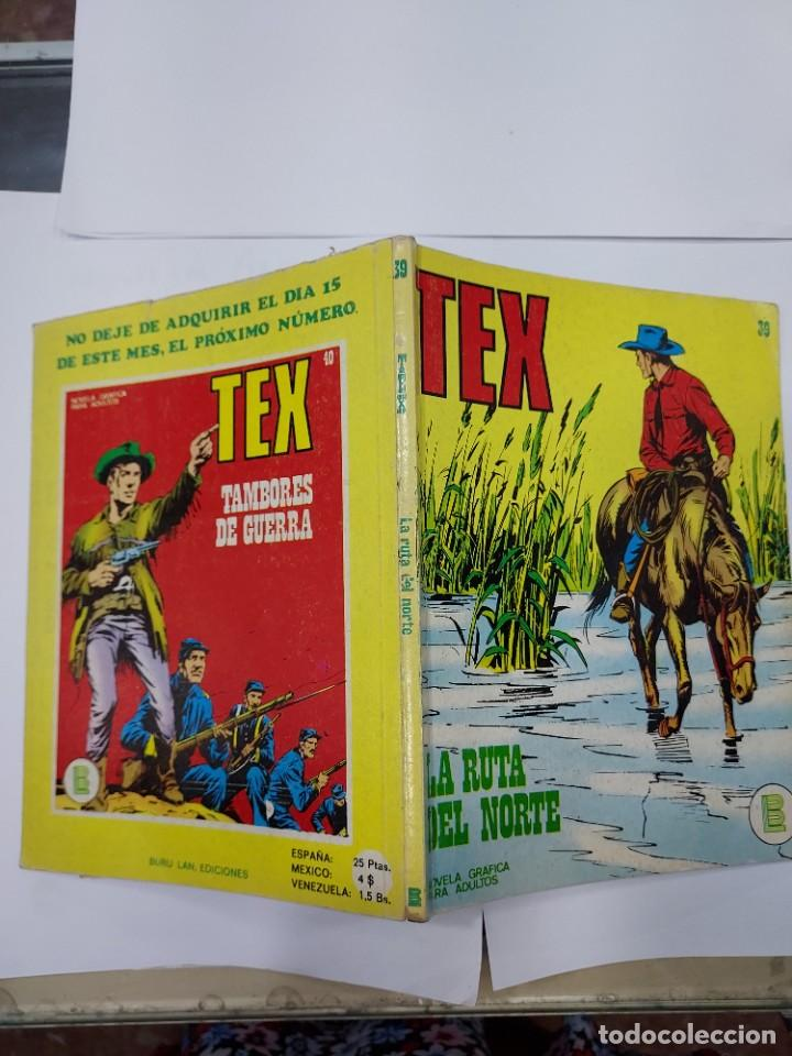 Libros: TEX. Nº 39 - LA RUTA DEL NORTE. NOVELA GRAFICA PARA ADULTOS. BURU LAN - Foto 2 - 278276718