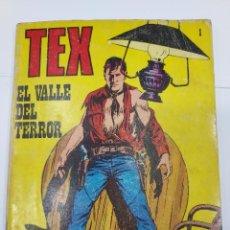 Libros: TEX Nº 1 EL VALLE DEL TERROR BURULAN BURU LAN NOVELA GRÁFICA ADULTOS 1971. Lote 278277018