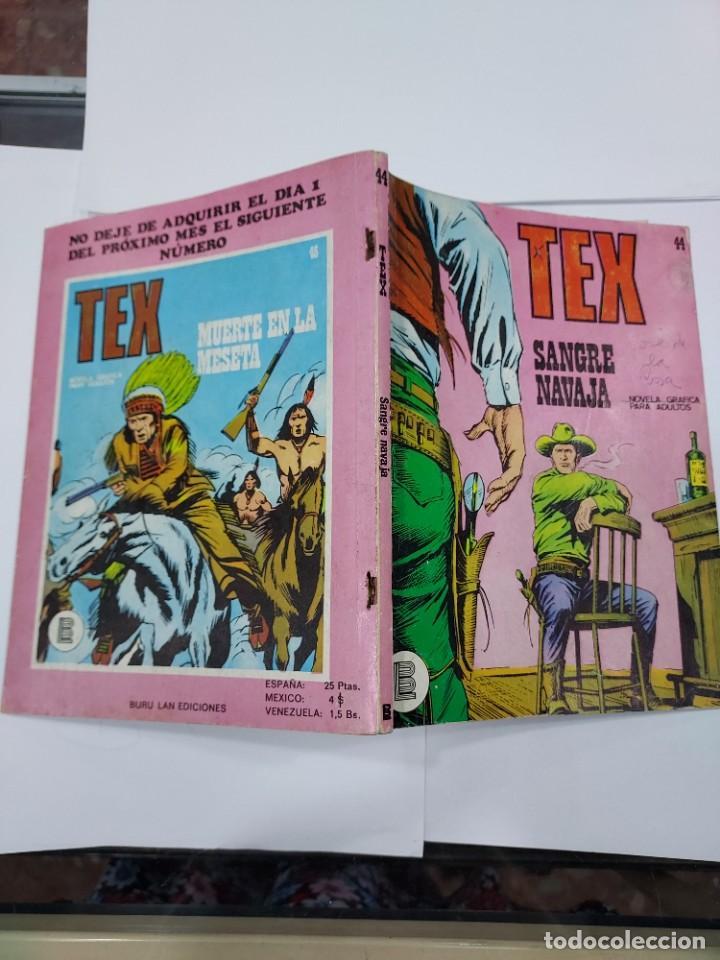 Libros: TEX - NUMERO 44 - SANGRE NAVAJA - BURULAN - - Foto 2 - 278277308
