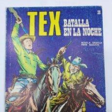 Libros: TEX. Nº 38 - BATALLA EN LA NOCHE. NOVELA GRÁFICA PARA ADULTOS. BURU LAN EDICIONES.. Lote 278277633