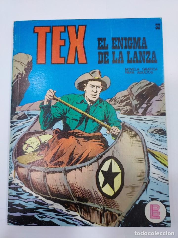 EX Nº 33, EL ENIGMA DE LA LANZA , EDITORIAL BURU LAN, BURULAN, 1972 (Libros sin clasificar)