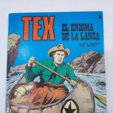 Libros: EX Nº 33, EL ENIGMA DE LA LANZA , EDITORIAL BURU LAN, BURULAN, 1972. Lote 278277793