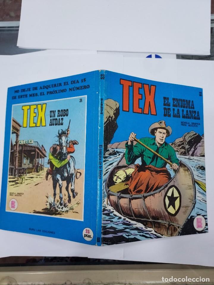 Libros: EX Nº 33, EL ENIGMA DE LA LANZA , EDITORIAL BURU LAN, BURULAN, 1972 - Foto 2 - 278277793