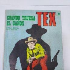 Libros: TEX Nº 28 CUANDO TRUENA EL CAÑON BURULAN. Lote 278278268
