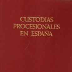 Libros: CUSTODIAS PROCESIONALES EN ESPAÑA - HERNMARCK, KARL. Lote 278317763