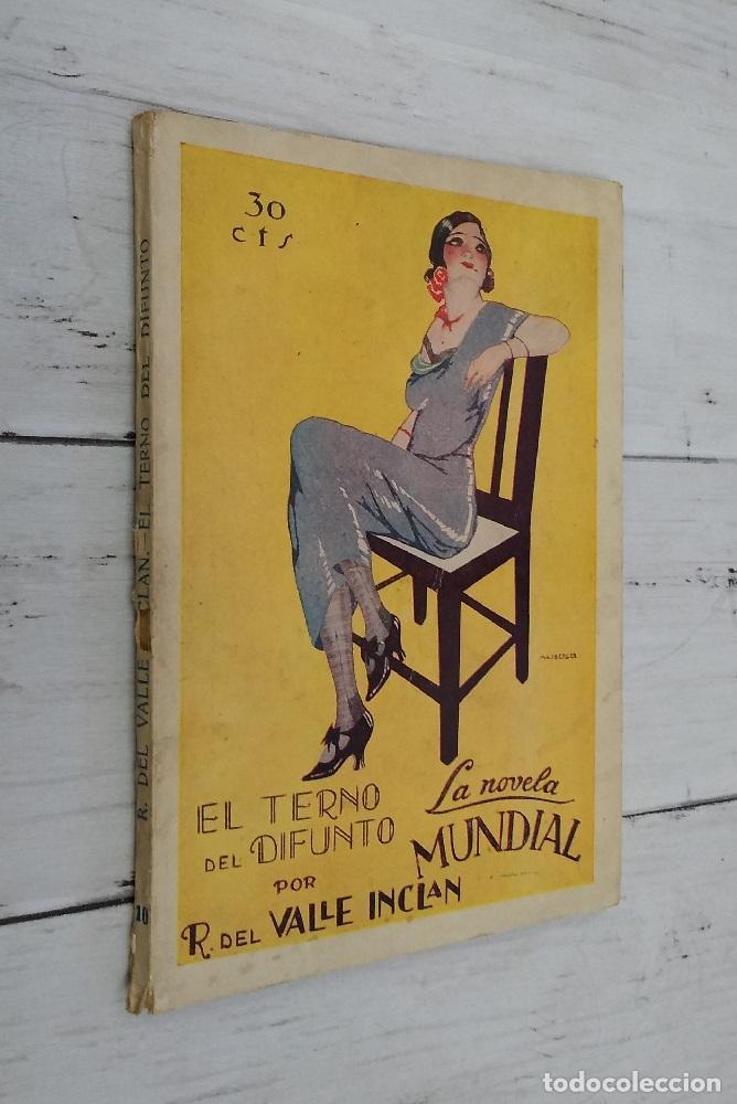 EL TERNO DEL DIFUNTO (PRIMERA EDICIÓN) - RAMÓN MARÍA DEL VALLE INCLÁN (Libros sin clasificar)