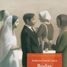 Libros: BODAS DE SANGRE (CLASICOS HISPANICOS) - FEDERICO GARCIA LORCA. Lote 278417713