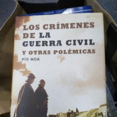 Libros: LOS CRIMENES DE LA GUERRA CIVIL Y OTRAS POLEMICAS. Lote 278422583