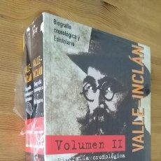 Libros: RAMÓN MARÍA DEL VALLE-INCLÁN; JUAN ANTONIO HORMIGON BLAZQUEZ - VALLE-INCLÁN. BIOGRAFÍA CRONOLÓGICA Y. Lote 278505753