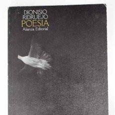 Libros: POESÍA.- RIDRUEJO, DIONISIO. Lote 278545208