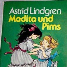 Libros: MADITA UND PIMS.- LINDGREN, ASTRID. Lote 278545228