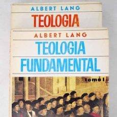 Libros: TEOLOGÍA FUNDAMENTAL.- LANG, ALBERT. Lote 278545253