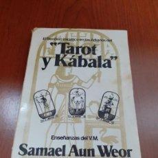 Libros: TAROT Y KABALA - SAMAEL AUN WEOR. Lote 278689183