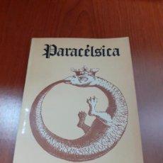 Libros: PARACELSICA - C.G. JUNG. Lote 278689188