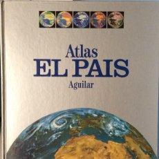 Libros: ATLAS EL PAIS AGUILAR COMPLETO. Lote 278763098