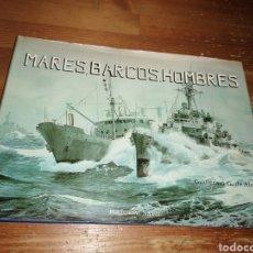 Libros: MATES, BARCOS, HOMBRES. GUILLERMO G. DE ALEDO. Lote 278763348