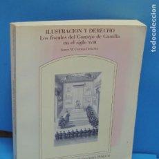 Libros: LA ILUSTRACION Y EL DERECHO. LOS FISCALES DEL CONSEJO DE CASTILLA EN EL SIGLO XVIII.. Lote 278886928