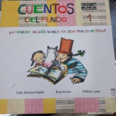 Libros: CUENTOS DEL MUNDO SANCHEZ ADALID SOFIA RARO. Lote 278928118