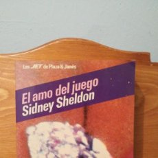 Libros: EL AMO DEL JUEGO ~ SIDNEY SHELDON. Lote 279403343