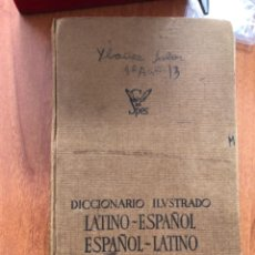 Libros: ANTIGUO DE ELECCIONARIO LATÍNO-ESPAÑOL ESPAÑOL-LATINO. Lote 279411403