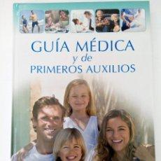 Libros: GUÍA MÉDICA Y DE PRIMEROS AUXILIOS - CLUB INTERNACIONAL DEL LIBRO. Lote 280106133