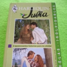 Libros: HARLEQUIN. 2APASIONANTES NOVELAS.. Lote 281803683