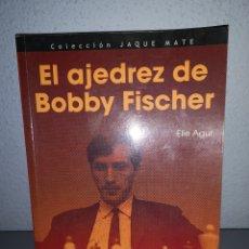 Libros: T2. L9. LIBRO. EL AJEDREZ DE BOBBY FISHER. ELLE AGUR. Lote 282183388