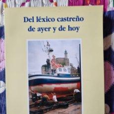 Libros: LÉXICO CASTREÑO DE AYER Y DE HOY. Lote 283814453
