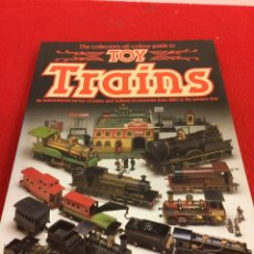 Libros: TOY TRAINS. Lote 284767103