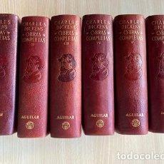 Libri: CHARLES DICKENS, OBRAS COMPLETAS EN 6 TOMOS. ED.AGUILAR, S.A. COLECCION OBRAS ETERNAS 1948-52. Lote 285298358