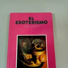 Livros em segunda mão: X EL ESOTERISMO, DE HANS KROFER (IBERLIBRO). Lote 286312168