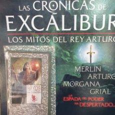 Libros: LIBRO LAS CRÓNICAS DE EXCALIBUR. MERLIN. Lote 286339273