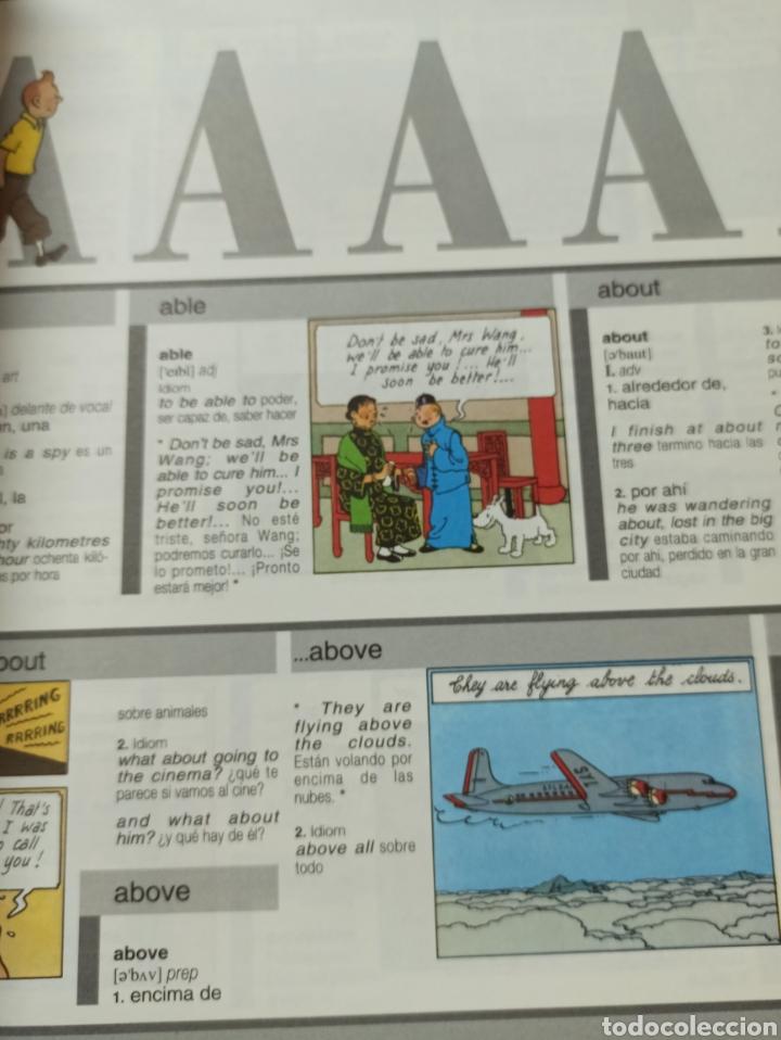 Libros: HARRAPS TINTIN ILLUSTRATED DICTIONARY: ENGLISH/SPANISH SPANISH/ENGLISH. - Foto 6 - 286646713