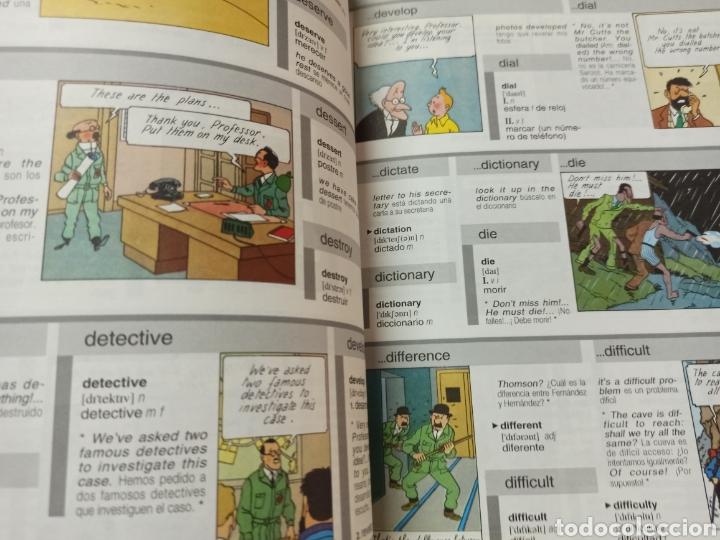 Libros: HARRAPS TINTIN ILLUSTRATED DICTIONARY: ENGLISH/SPANISH SPANISH/ENGLISH. - Foto 8 - 286646713