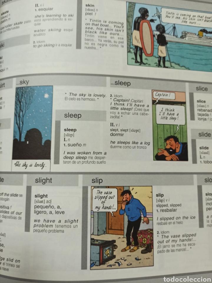 Libros: HARRAPS TINTIN ILLUSTRATED DICTIONARY: ENGLISH/SPANISH SPANISH/ENGLISH. - Foto 9 - 286646713