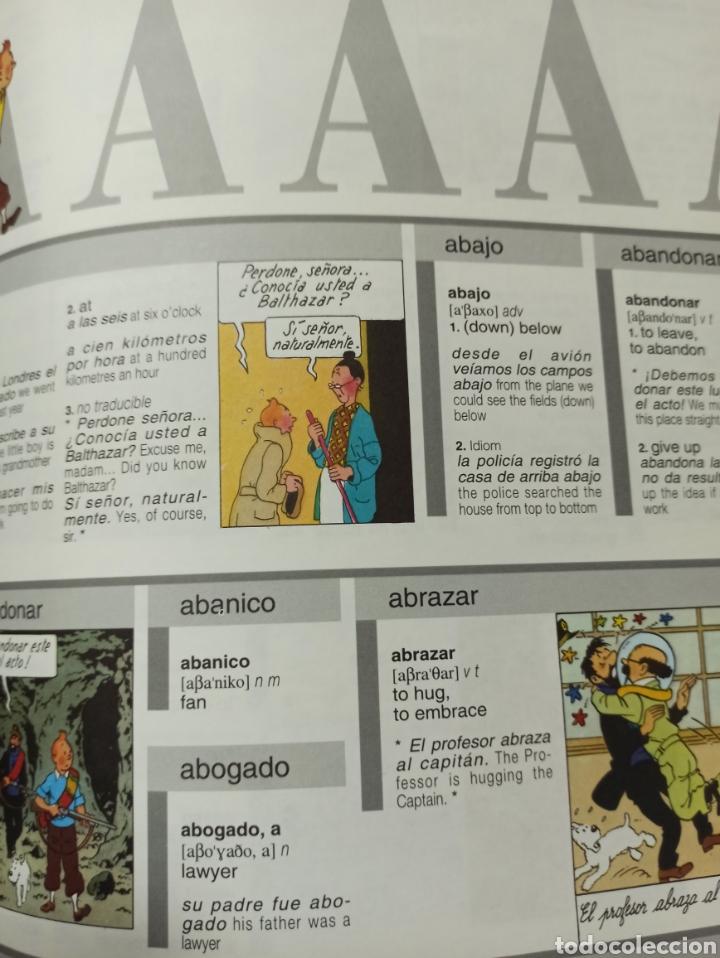 Libros: HARRAPS TINTIN ILLUSTRATED DICTIONARY: ENGLISH/SPANISH SPANISH/ENGLISH. - Foto 10 - 286646713