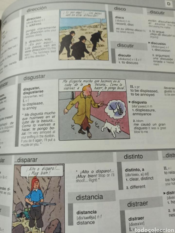 Libros: HARRAPS TINTIN ILLUSTRATED DICTIONARY: ENGLISH/SPANISH SPANISH/ENGLISH. - Foto 11 - 286646713