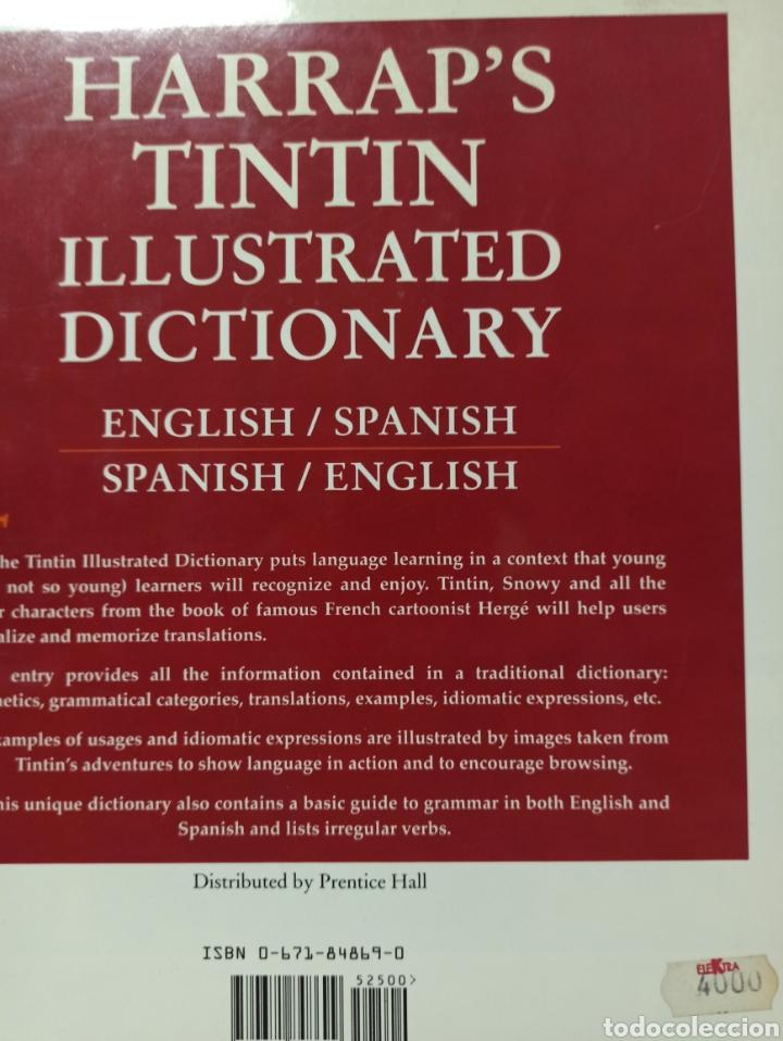 Libros: HARRAPS TINTIN ILLUSTRATED DICTIONARY: ENGLISH/SPANISH SPANISH/ENGLISH. - Foto 13 - 286646713