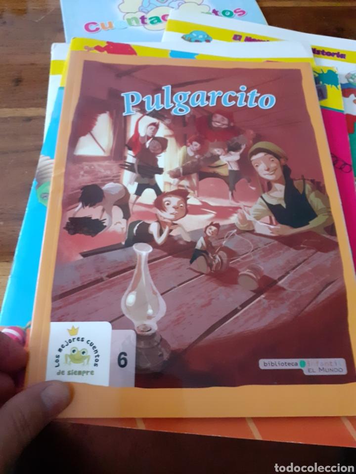 Libros: Lote cuentos APRENCIZAJE didacticos ,PULGARCITO ETC ( nuevos ) - Foto 5 - 286794723