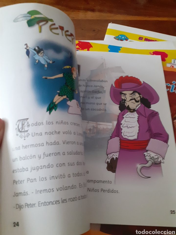 Libros: Lote cuentos APRENCIZAJE didacticos ,PULGARCITO ETC ( nuevos ) - Foto 8 - 286794723