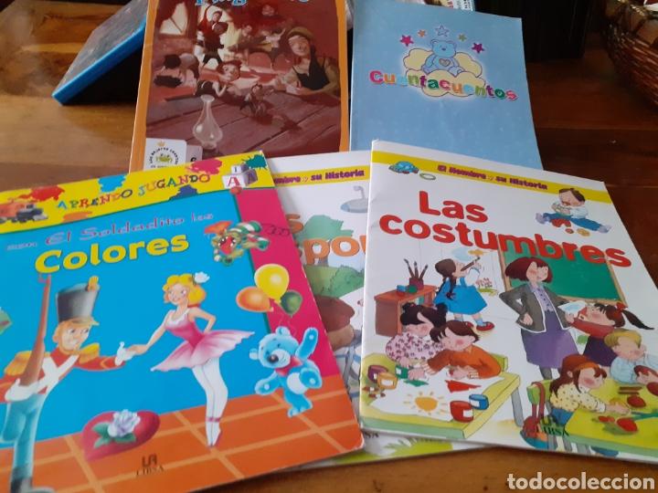 Libros: Lote cuentos APRENCIZAJE didacticos ,PULGARCITO ETC ( nuevos ) - Foto 9 - 286794723