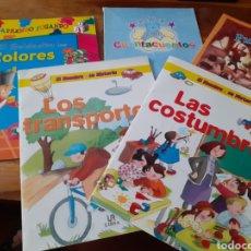 Libros: LOTE CUENTOS APRENCIZAJE DIDACTICOS ,PULGARCITO ETC ( NUEVOS ). Lote 286794723