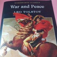 Libros: LIBRO-WAR AND PEACE-LEO TOLSTOY-WORDSWORTH CLASSICS-1993-IMPOLUTO-COLECCIONISTAS. Lote 287104583