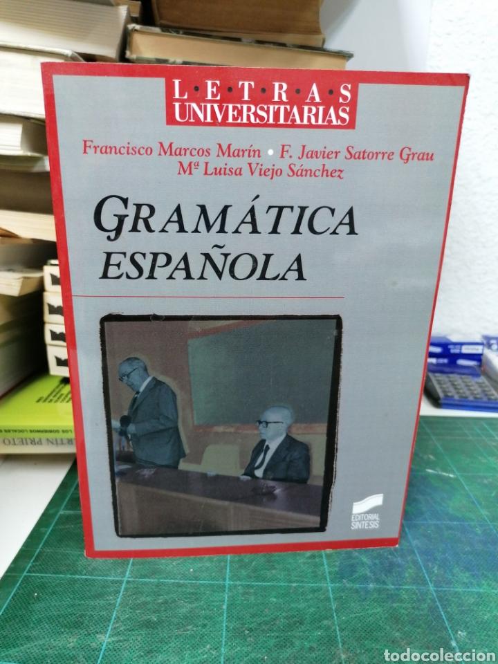 GRAMÁTICA ESPAÑOLA. MARCOS MARÍN, SATORRE ETC (Libros sin clasificar)