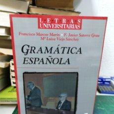 Libros: GRAMÁTICA ESPAÑOLA. MARCOS MARÍN, SATORRE ETC. Lote 287222423