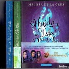 Libros: 3 MAGNIFICOS LIBROS DISNEY 10 EDICION 2019 LA ISLA DE LOS PERDIDOS MELISSA DE LA CRUZ N,1,3 Y 4,. Lote 287399548