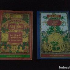 Libros: LOTE JULIO VERNE - PUJA A PARTIR DE 0,01€ (UN CÉNTIMO). Lote 287487758