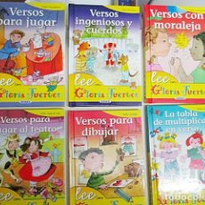 Libros: FUERTES, GLORIA. - LEE CON GLORIA FUERTES 6 VOLS.. Lote 287589483