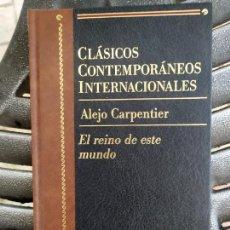 Libros: ALEJO CARPENTIER EL REINO DE ESTE MUNDO. Lote 287604983